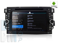 Автомобильный компьютер Car DvD GPS PC. Android 4.0 for Chevrolet Epica/ Lova/ Captiva -Code: G009