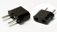Адаптер US to EU AC Power Plug Travel Converter Adapter