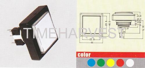 Square Push Button 02