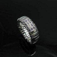 Кольцо GSSPR061-8/, Elastic ring, high quality fashion Silver jewelry, fashion jewelry, nickel, antiallergic