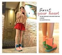 Потребительские товары 2014! Women's Snow Boots For Ladies Winter Autumn High Quality Fashion New Style   JF001