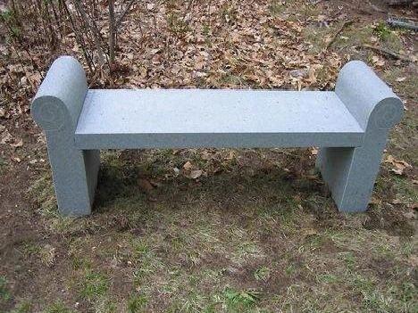 Idea bancos de piedra en nuestros parques y jardines for Ideas para parques y jardines