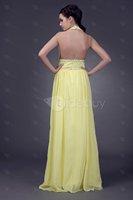 YAYAGIRLS Fantastic A-Line Halter Floor-Length Empire Waistline Veleria's Prom Dress at wholesale price: aliexpress.com