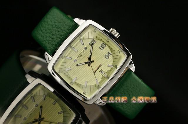 Men's Watch Japan Quartz Hours Auto Date Fashion Dress Bracelet Leather Boy Birthday Valentine Retro Gift Julius Box 025