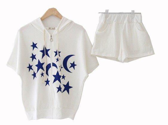 women short cotton sport wear