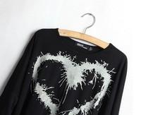 Женские блузки и Рубашки modal fashion T-shirt women loose T-shirt