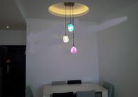 Дракон яйца люстра лампа творческая мозаика подвески богемный спальня гостиная столовая светильник