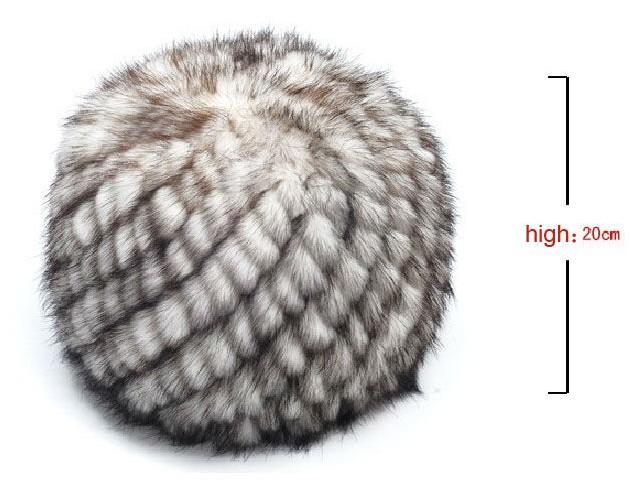 Схемы вязанных шапок из норки