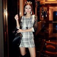 y м новый бренд печати глаза повязку платья Женская мода черный bodycon клуб сексуальное мини-платье yhz81b