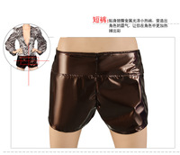 Fashion DS Ladies' garment Coat Hot Shorts Animal Print Stage Clothing Women's Clothes Hip Hop Apparel