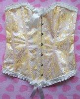 Корректирующее белье 1 set! Sexy corset, Sexy Satin boned CORSET Bustier
