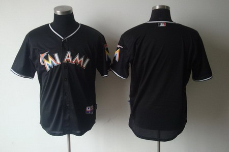 Florida Blank Men's Baseball Jersey black