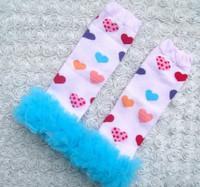 Гетры для девочек 5 pairs chiffon ruffle leg warmers/fluffy leg warmers Christmas kids tall socks baby children girls princess