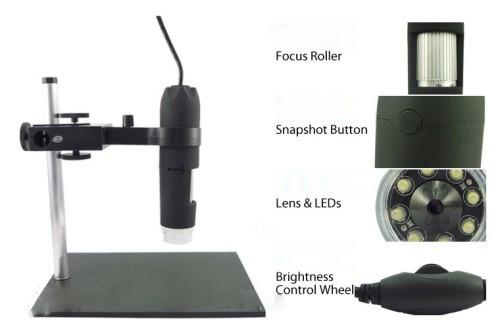Микроскоп из веб камеры софт