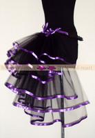 Женский маскарадный костюм Newest Arrivals! 2 Colors Sexy Corset tutu dress/ burlesque skirt for Women, Ladies sexy chiffon mini tutu skirt