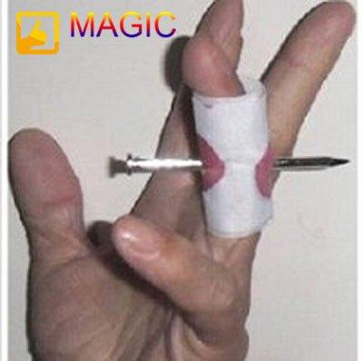 Как сделать гвоздь в палец