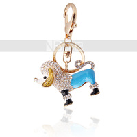 Брелок New Multi-color Crystal Cross Keychain Fashion Keyring Purse Handbag Charm Pendant Gift
