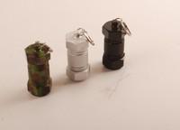 алюминиевые таблетки контейнера брелок держатель