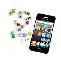 Магниты на холодильник Other 18 app iPhone 4 /,  10Set F003