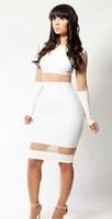 Женское платье Slim Fit Bodycon Clubwear QW1402
