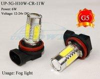 Super brightness High power auto led fog light H10 11W auto led lamp led bulb for auto 5 sides lighting CREE chip