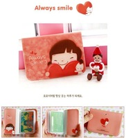Визитница 10pcs/lot, Wannathis momoi Korean style cute card bag/purse, card case, bank card holder, credit card pouch, can hold 12 cards