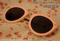 тенденция конфеты розовый королевы очки стрелки для дам девушка