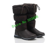 Женские ботинки Discount 2013 Ladies Winter Snow Boots, Tall Classic Feather Women Boots, Fashionable Nylon+Plush Boot