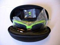 100% Men Sports Sunglasses Fashion Sunglasses 04205 Green Black-Dozen-Free Shipping