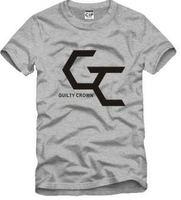 Мужская футболка Retail 2013 new sale japanese anime guilty crown logo printed t shirt 100% cotton 7 color