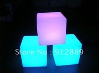 LED Cube Chair / Stool for Bar,Disco,Outside,Garden,Park,Party,Wedding,Home  Decoration+ Wholesale price