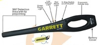 Промышленный детектор металла NEW Garrett SuperWand Security 360 Metal Detector #1165800