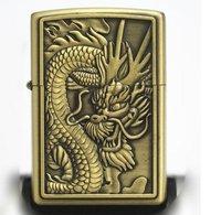 высокое качество дракон легче Флинт зажигалок butance газ творческие бронзы легче, #a0020