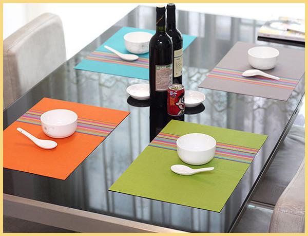 Как сшить салфетки на стол под тарелки