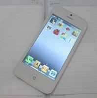 Мобильный телефон russian language hot saling I5 5S WIFI TV phone 4.0 inch dual sim card quad band unlocked