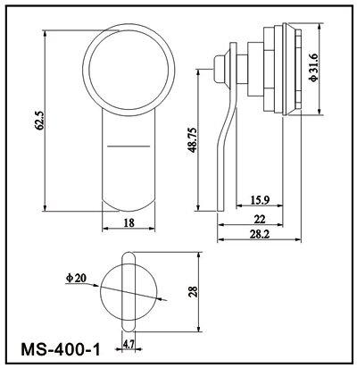 Cam Lock(file cabinet lock)