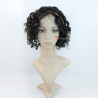 бразильский Реми волос! 5а + класс, человеческой Парики, часть парик, афро парик для чернокожей женщиной, полный шнурок и передние кружево парик с Заводская цена