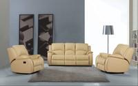 Colorful and unique design reclining sofa.