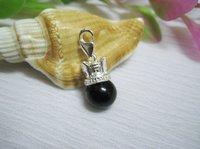 925 silver crown pearl pendant.fashion jewelry.925 sterling silver charms pendant.silver pendants.free shipping wholesale