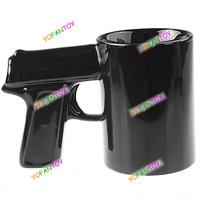 пистолетная рукоятка чашки пистолет обрабатывать Кубка керамическая кружка 6 цвета вариантов Оригинальные кружки