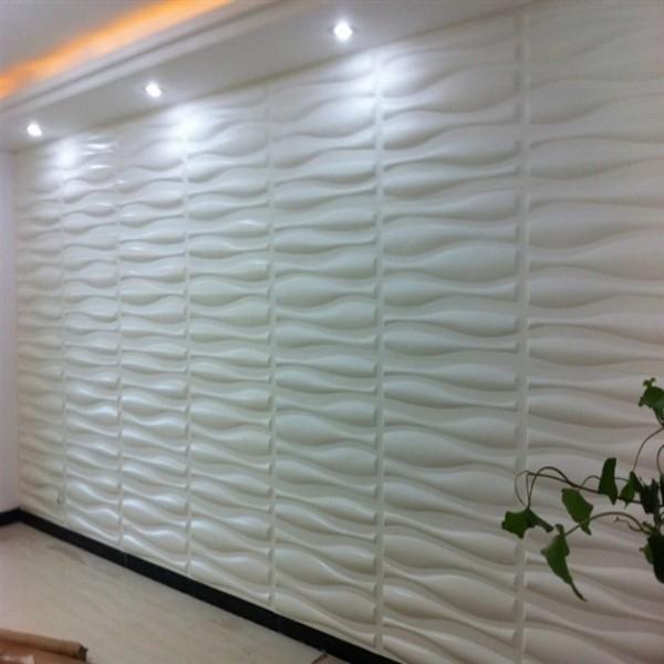 de parede / placa da parede 3D cola 3D no papel de parede Material
