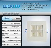 Растровый светильник 4w 400lm ac85/265v /ce & ROHS