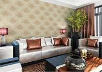 современный европейский стиль чистого нетканого Королевский цветок узор стены бумаги/tapet ролл для гостиной, спальни, ТВ backgroud