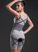 Женское термо-белье Magic slimming underwear gen bamboo charcoal slimming suits Pants Bra Bodysuit Body Shaping clothing