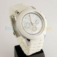 Наручные часы Hot Sale Fashion BRAND NEW White Girls Analog Dial Bracelet Wrist Watches