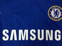 сезон «Челси» дома #11 Оскар болельщиками, футболка Челси, с вышитым логотипом высококачественные Таиланд, низкие цены