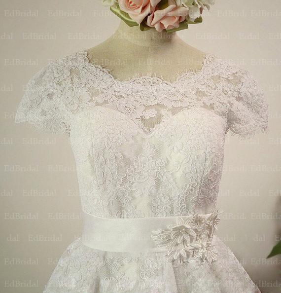 Vintage Tea Length Wedding Dress Patterns 1000x1500 Aliexpresscom