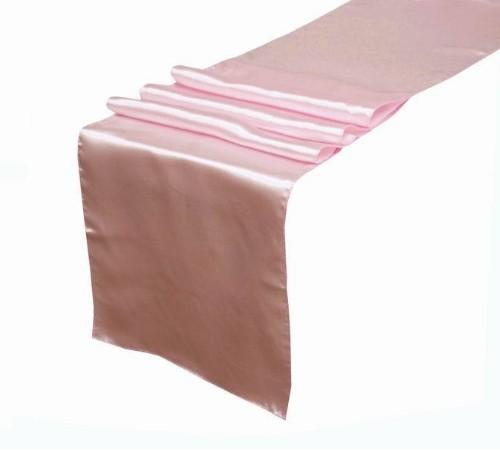 Wholesale 5 Hot Pink Fuschia Satin Table Runner Wedding