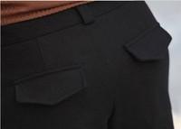 Женская новая Осень-Зима Женские повседневные ботинки брюки тонкий модные шерстяные шорты/розничная торговля