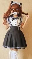Школьная форма Japanese Japan School Girl Lady Uniform Dress Costume Cosplay Anime Short